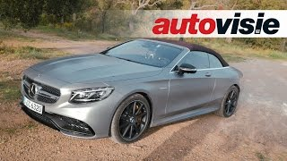 Review Mercedes-AMG S 63 Cabriolet (2016) - by Autovisie TV