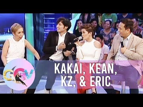 GGV: Kakai, Eric, Kean, KZ try to imitate different characters