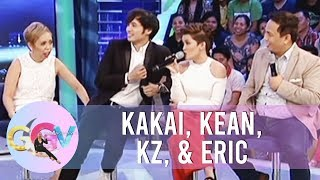 GGV: Kakai, Eric, Kean, KZ try to imitate different characters