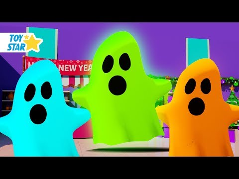 New 3D Cartoon For Kids 娄 Dolly And Friends 娄 Real Ghost in Supermarket #82