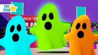 New 3D Cartoon For Kids ¦ Dolly And Friends ¦ Real Ghost in Supermarket #82