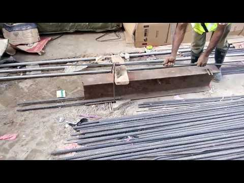 Preparation of rod for lapping in Retrofitting columns