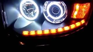 Тюнинг оптики на Митсубиси Паджеро Спорт 2