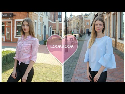 SPRING OUTFIT IDEAS | HOW TO STYLE LEATHER LEGGINGS | LOOKBOOK 4