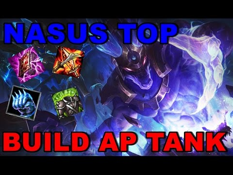 ranked lol nasus top new build ap tank gameplay espa ol rh youtube com Nasus Masteries Nasus Skins