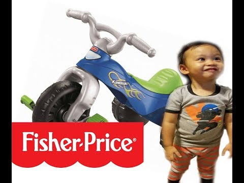 Fisher Price KAWASAKI TOUGH TRIKE | Tricycle For Kids Toy Review Best Toy For 2-3 Year Old