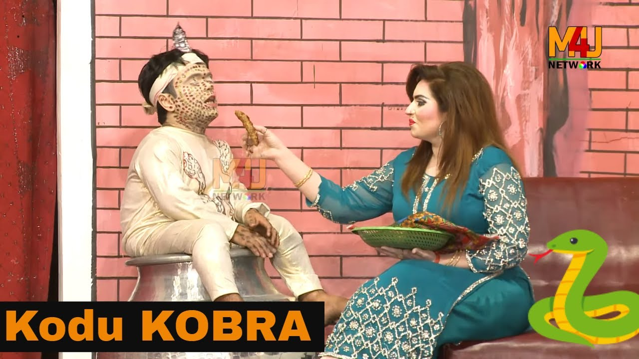 KODU KOBRA | Vicky Kodu with Saria Mehar and Amjad Rana | full HD Stage Drama Jadugar Saiyan 2019