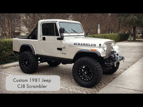 1981 Jeep CJ8 Scrambler LS V8 Swapped - Walk Around