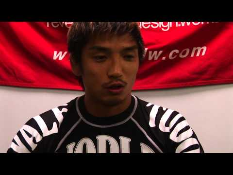 Hideo Tokoro - Training & Interview - DREAM.14