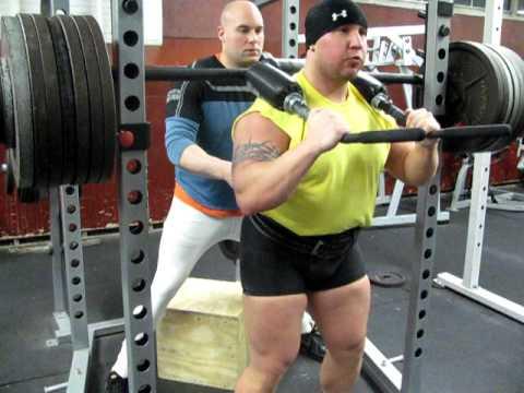 Merveilleux Kevin DiGiorgio 750 Lb Box Squat Elite FTS Safety Squat Bar Westside  Barbell Training Methods