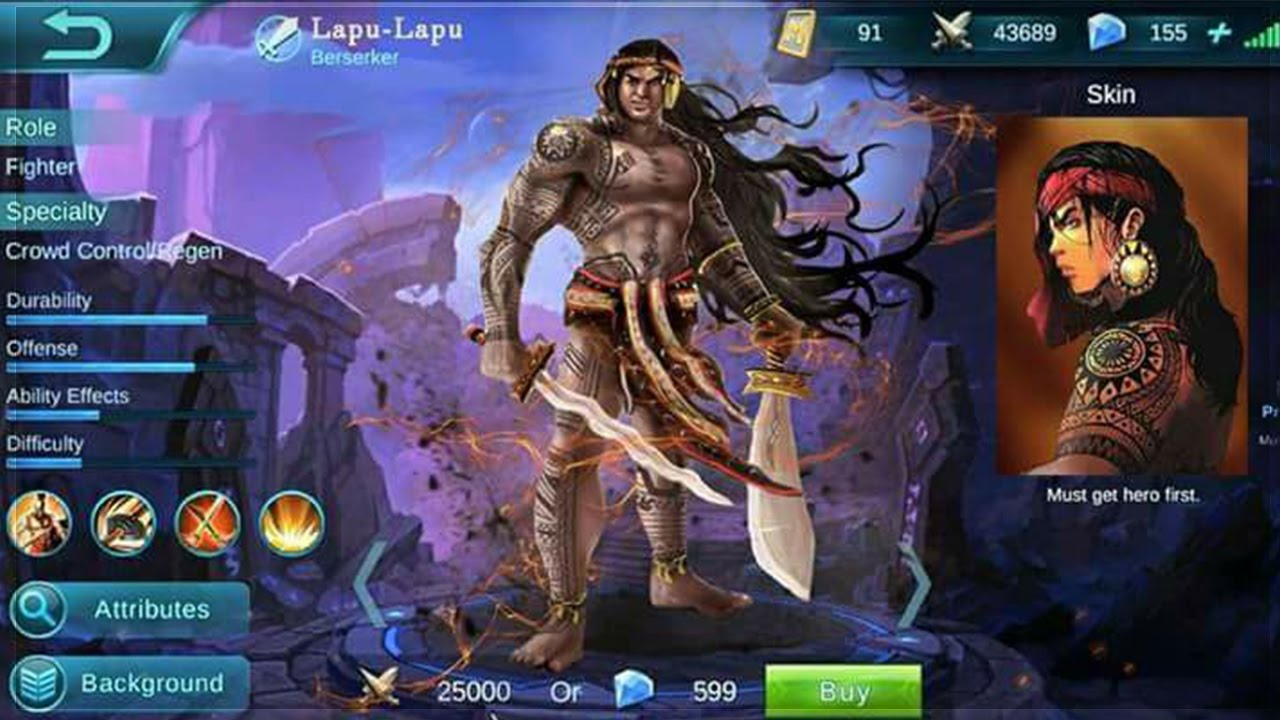 Mobile Legends Lapu Lapu