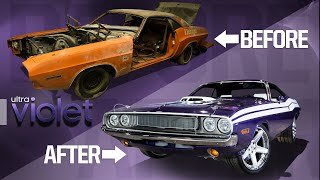1970 Dodge Challenger Full Rebuild in Minutes!