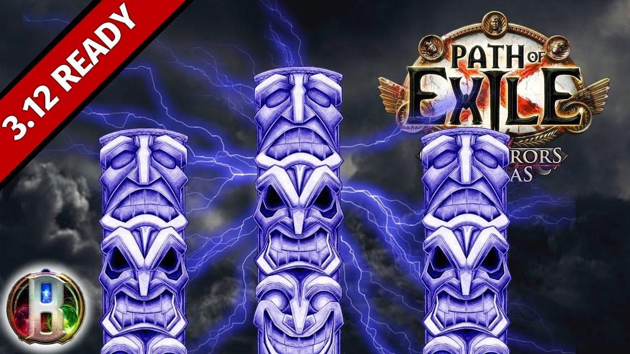 Path of Exile 3 8 - Arc Totem Build - Hierophant Templar - Blight poe