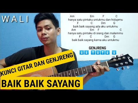 Kunci Gitar   Baik Baik Sayang   Wali Tutorial gitar baik baik sayang