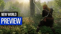New World PREVIEW | Amazons neues Sandbox-MMO in der großen Vorschau