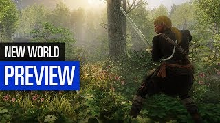 New World PREVIEW Amazons neues Sandbox-MMO in der grossen Vorschau