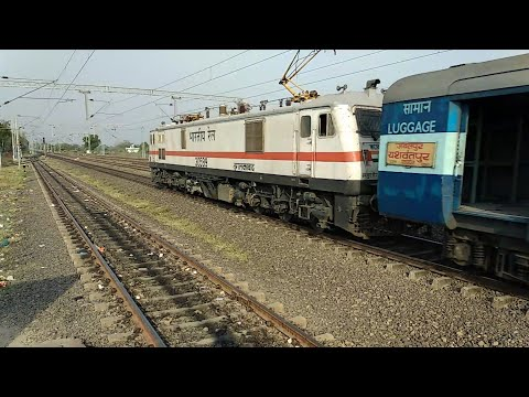 JABALPUR - YESWANTPUR NOW WITH ELECTRIC LOCO| Electrification Of ITARSI-ALLAHABAD ROUTE
