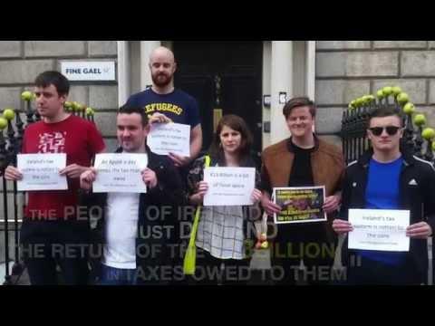Sinn Fein demanda a Apple a devolución dos 13 mil millóns