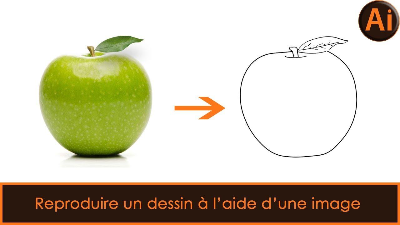 Tutoriel Illustrator Reproduire Un Dessin A L Aide D Une Image Partie 1 Youtube