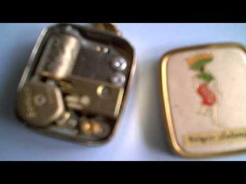 Sankyo Music Box Key Chain