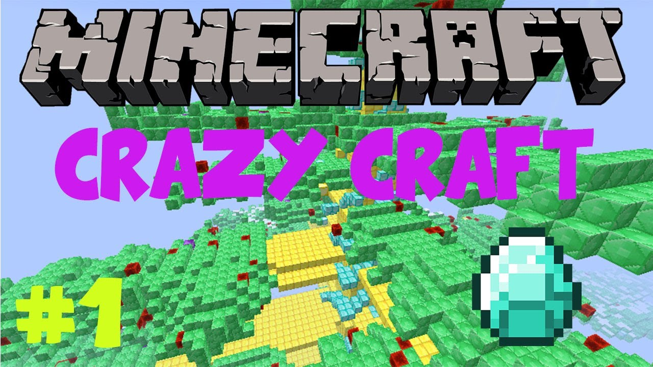 Play Minecraft Crazy Craft For Free