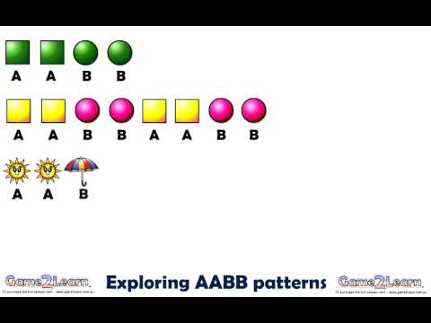 Repeating AABB patterns