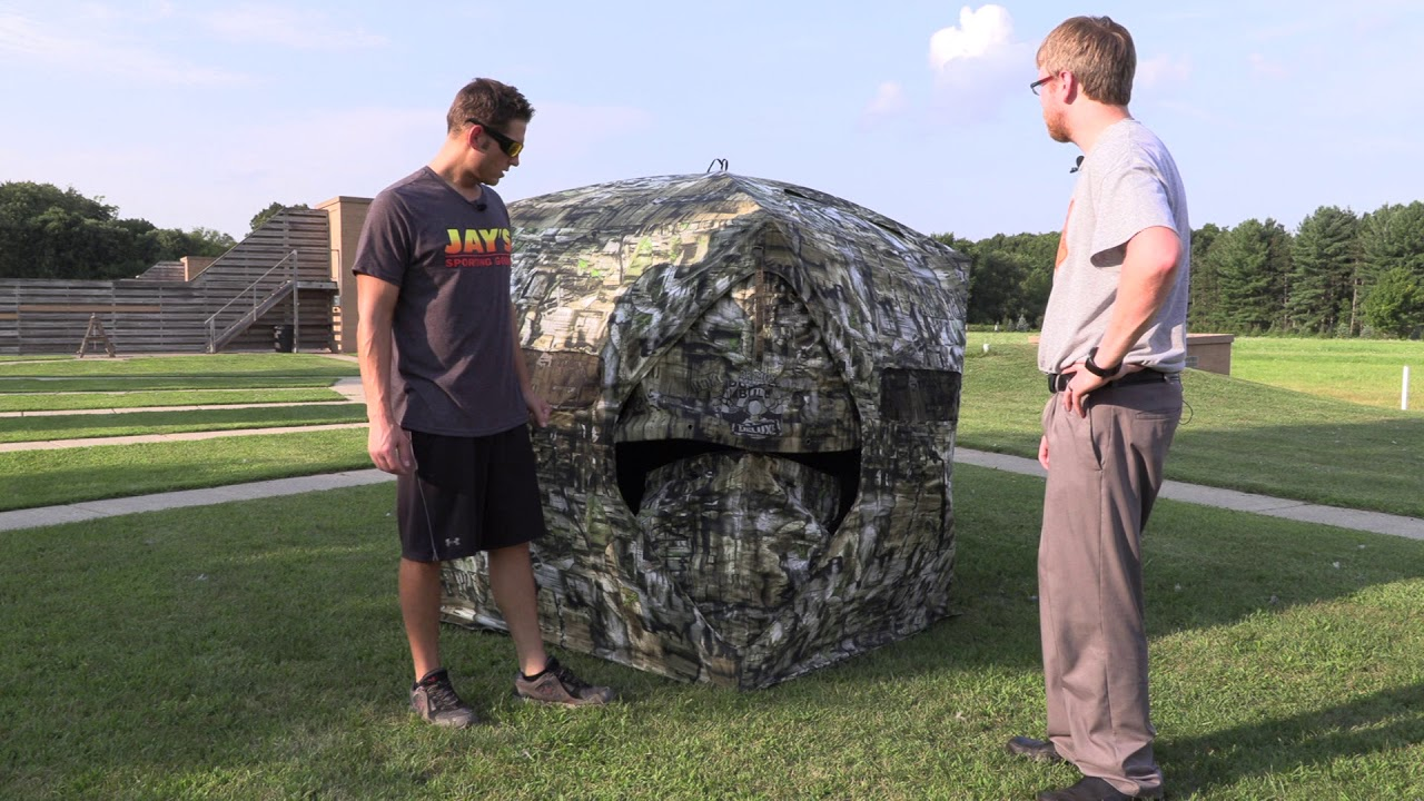 Primos Ground Blind Product Review Youtube