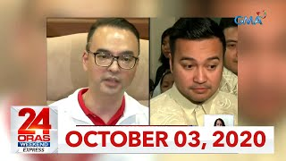 24 Oras Weekend Express: October 3, 2020 [HD]