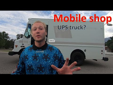 What's In My Mobile Mechanics Truck. Retired UPS Truck Turned Mobile Workshop.