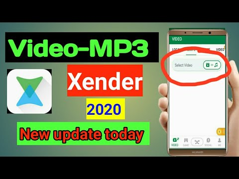 How to convert video-MP3 with xender || How to convert video-MP3,how to convert youtube video mp3 ||