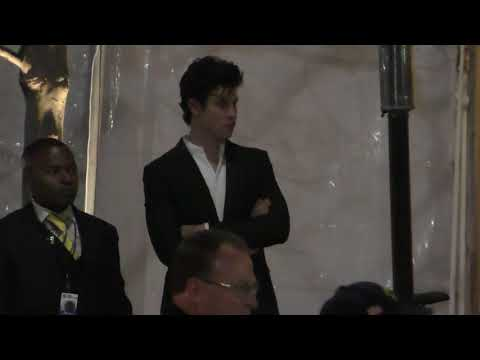 Shawn Mendes outside the Vanity Fair Oscar Party in Beverly Hills