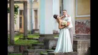 Слайд шоу из фотографий для Лилии и Александра. Свадебное слайд-шоу с музыкой.