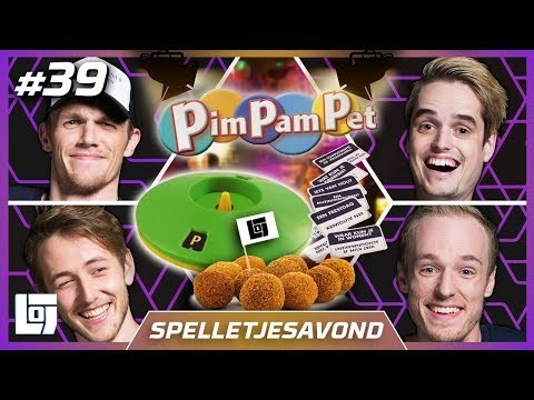 PIMPIE PAMTIE PENTIE met Don, Joost, Jeremy en Milan   Spelletjesavond   LOGS2 #39