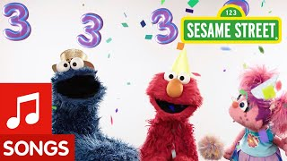 Sesame Street: Happy Birthday Song | 3 Years Old!