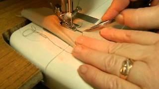 Учимся шить на швейной машинке. Прямая строчка, зигзаг, петля под пуговицу.