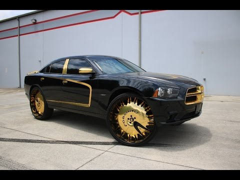 Whipaddict Dodge Charger Rt On Gold Forgiato Enzo L 30s At