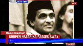 Music doyen Bhupen Hazarika dead