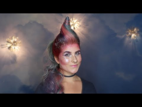 Unicorn Hair and Makeup Tutorial - Wonderland Beauty Parlor