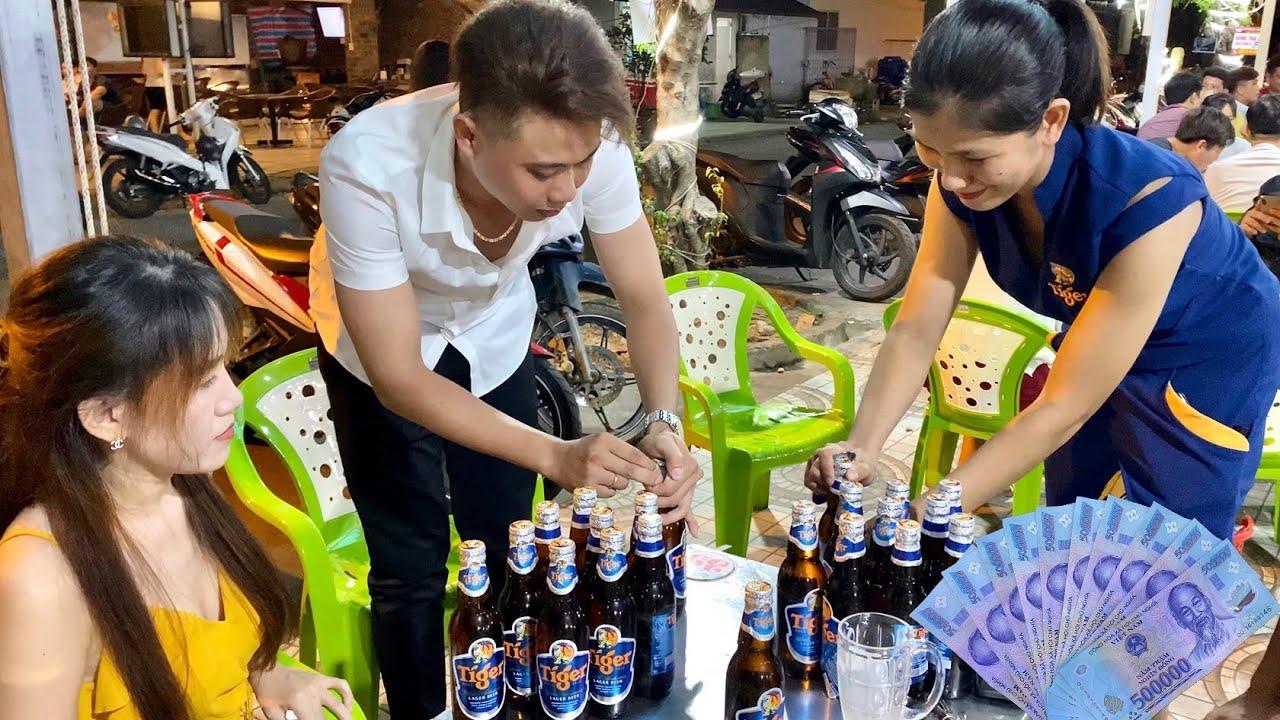 Tiếp Thị Bia Tiger Thách Thức Công Thức TV Bỏ Ra 5 Triệu Đấu Khui Bia,Cái Kết Triệu Người Phải Xem