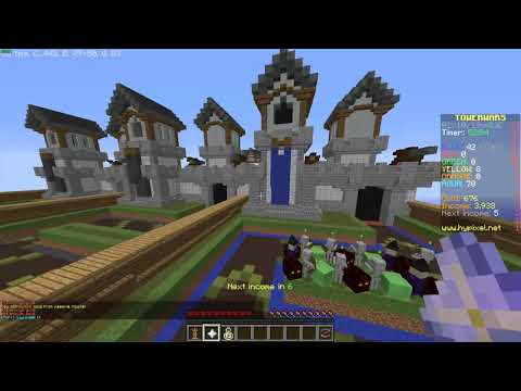 Minecraft Hypixel Tower Wars: I Have Not Lost With This Strategy