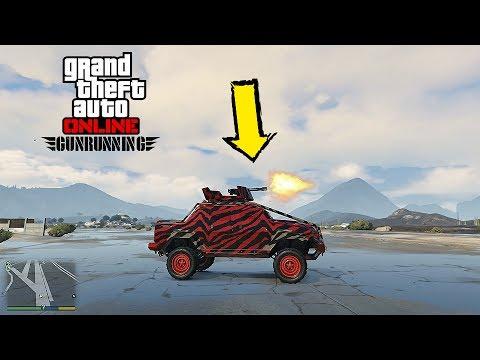 GTA ONLINE GUNRUNNING DLC Insurgent Pick-Up Custom TEST - NEW BEST ...