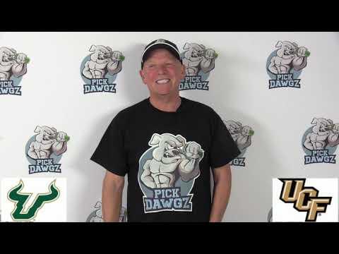 UCF vs South Florida 11/29/19 Free College Football Pick and Prediction Week 14 CFB Tips
