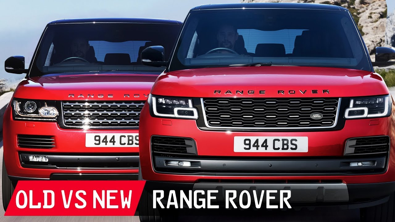 Old Vs New Range Rover See The Differences