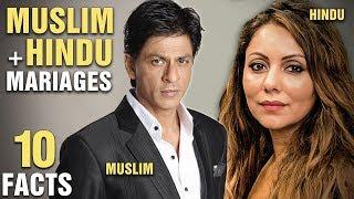 10 Famous MUSLIM Actors Who Married HINDU Women