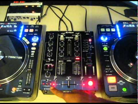 DJ Tech DJM-303 Mixer Review Video
