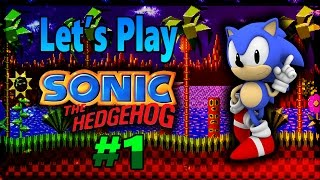 Let's Play Sonic The Hedgehog(SEGA Mega Drive)-Part 1 (1080p)