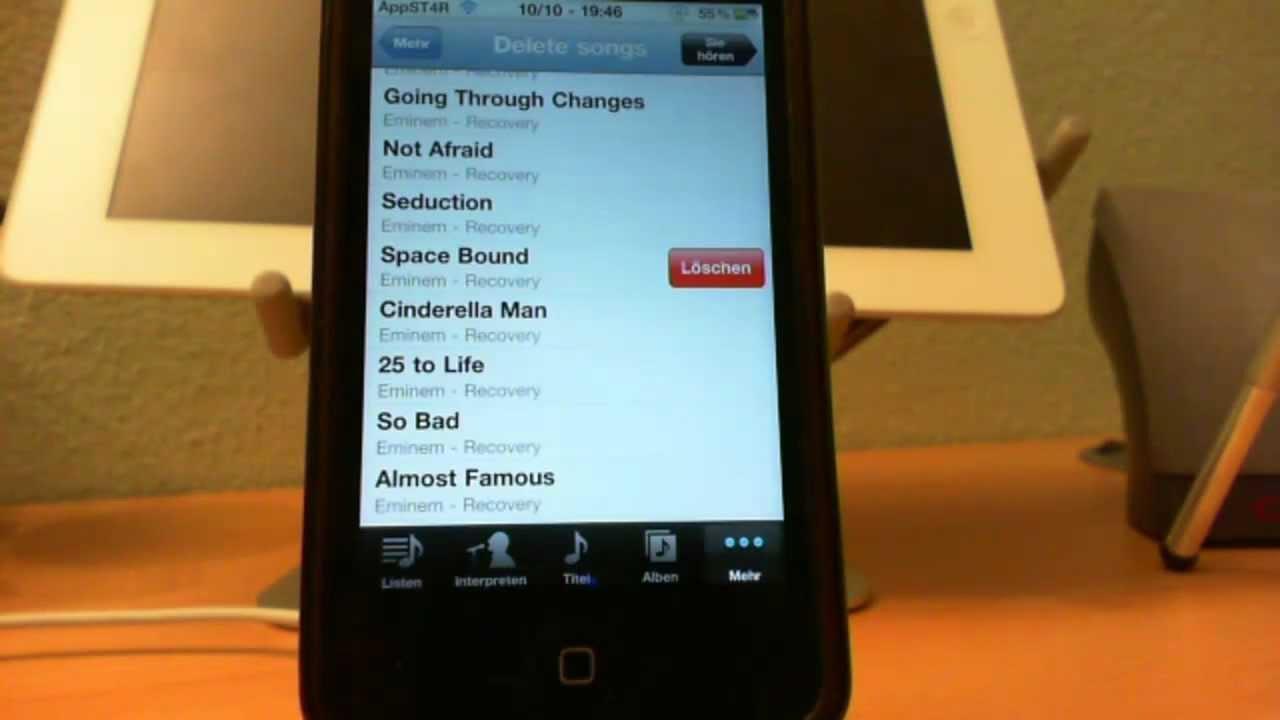 musik vom iphone löschen iphone 4