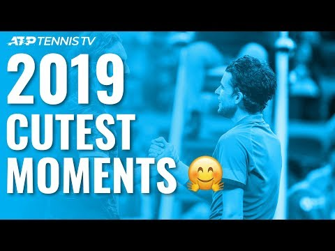 Cutest Moments On The ATP Tour In 2019 😊