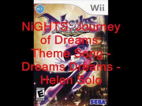 NiGHTS Journey of Dreams Music: Theme Song - Dreams Dreams (Helen Solo)