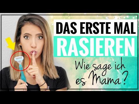 Erstes Mal Rasieren?! | Intimbereich, Beine, Achseln | Wie sage ich es Mama? #MamaMittwoch